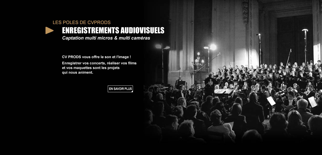 CVPRODS - Enregistrements audiovisuels